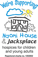 We're supporting Naomi's House 7 Jacksplace